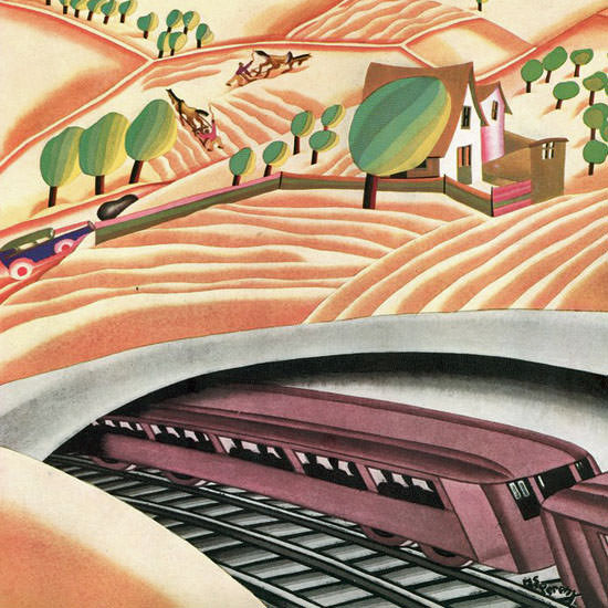 Madeline S Pereny The New Yorker 1930_05_24 Copyright crop | Best of 1930s Ad and Cover Art