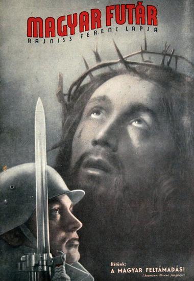 Magyar Futar Jesus | Vintage War Propaganda Posters 1891-1970