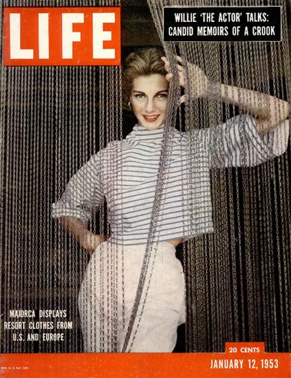 Majorca displays Mallorca 12 Jan 1953 Copyright Life Magazine | Life Magazine Color Photo Covers 1937-1970