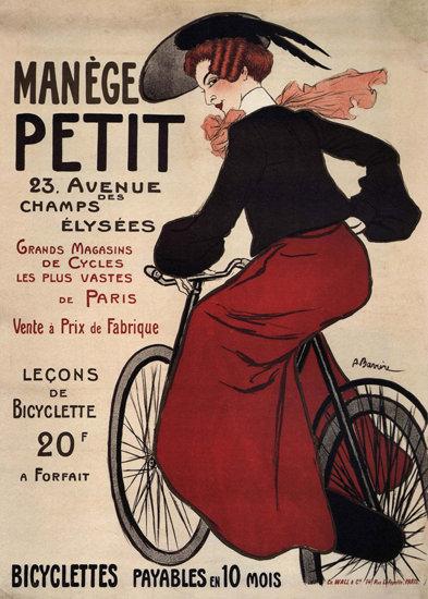 Manege Petit Bicyclettes Paris France | Sex Appeal Vintage Ads and Covers 1891-1970