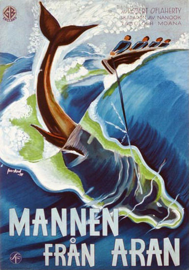Mannen Fran Aran J Olsens | Vintage Ad and Cover Art 1891-1970
