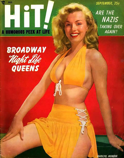 Marilyn Monroe Hit Cover | Sex Appeal Vintage Ads and Covers 1891-1970