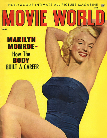 Marilyn Monroe Movie World Body Built A Career   Sex Appeal Vintage Ads and Covers 1891-1970