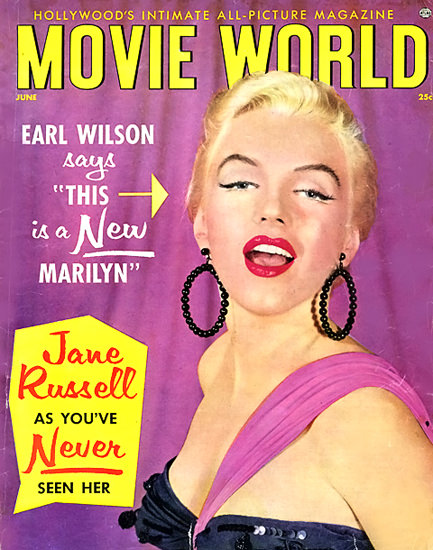 Marilyn Monroe Movie World Cover A New Marilyn   Sex Appeal Vintage Ads and Covers 1891-1970