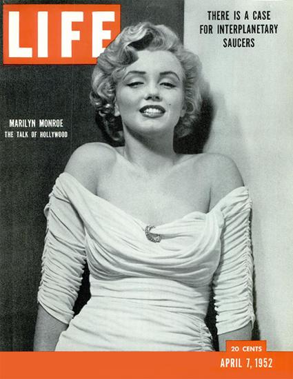Marilyn Monroe The Doctrine 7 Apr 1952 Copyright Life Magazine | Life Magazine BW Photo Covers 1936-1970