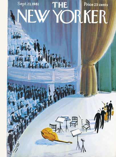 Mario Micossi The New Yorker 1961_09_23 Copyright | The New Yorker Graphic Art Covers 1946-1970