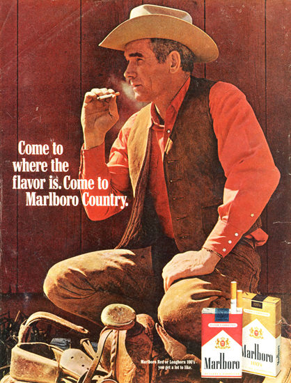 Marlboro Come To Marlboro Country 1969 Barn | Vintage Ad and Cover Art 1891-1970