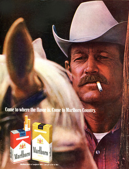 Marlboro Come To Marlboro Country 1969 Groom | Vintage Ad and Cover Art 1891-1970