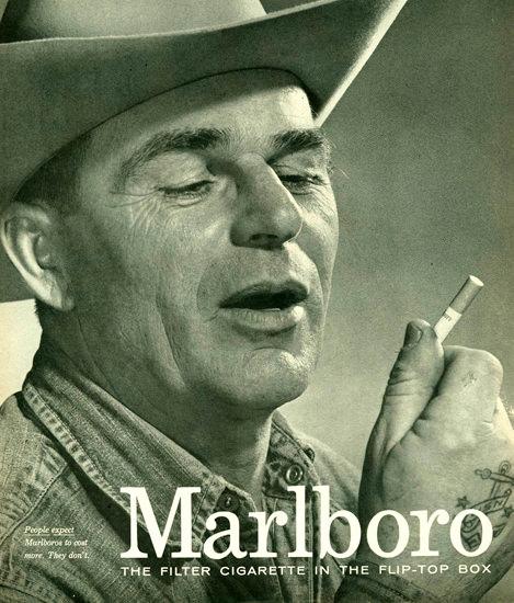 Marlboro Man 1958 Cowboy 1 | Vintage Ad and Cover Art 1891-1970