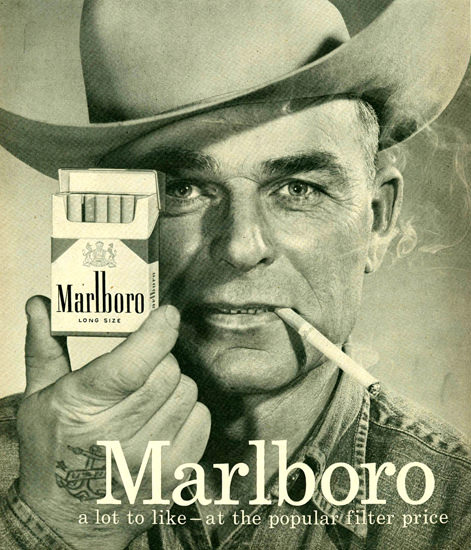 Marlboro Man 1958 Cowboy 3 | Vintage Ad and Cover Art 1891-1970