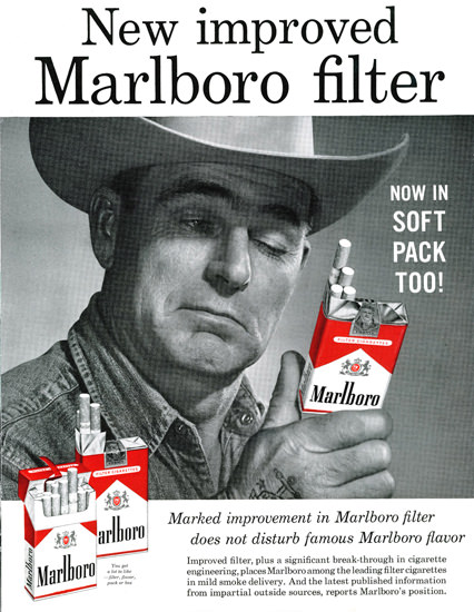 Marlboro Man 1958 Cowboy 4 | Vintage Ad and Cover Art 1891-1970
