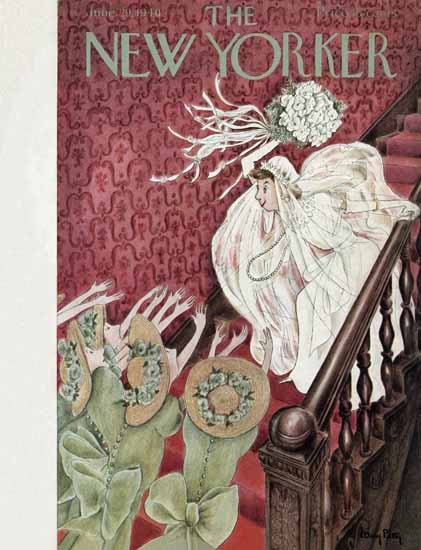 Mary Petty The New Yorker 1940_06_29 Copyright | The New Yorker Graphic Art Covers 1925-1945
