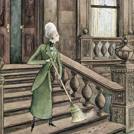 Mary Petty The New Yorker 1944_07_08 Copyright crop | Best of Vintage Cover Art 1900-1970