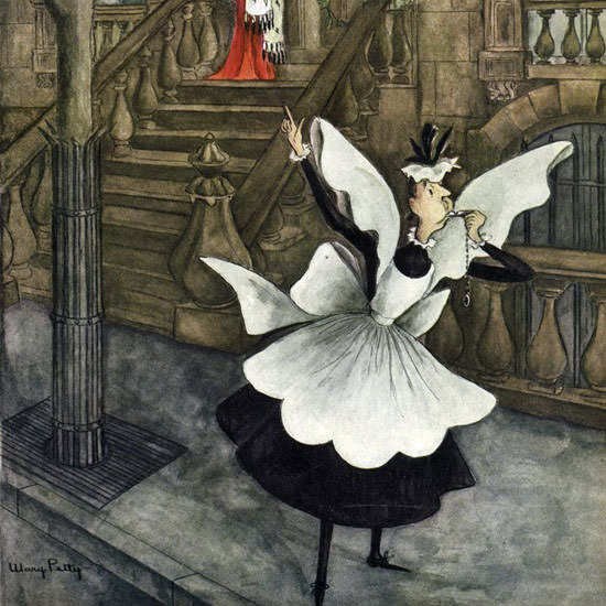 Mary Petty The New Yorker 1948_05_15 Copyright crop | Best of Vintage Cover Art 1900-1970