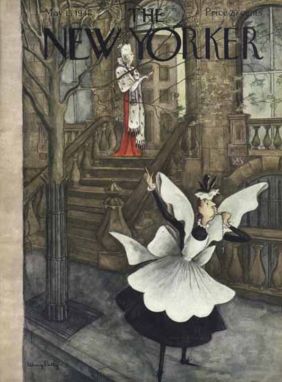 Mary Petty The New Yorker 1948_05_15 Copyright | The New Yorker Graphic Art Covers 1946-1970