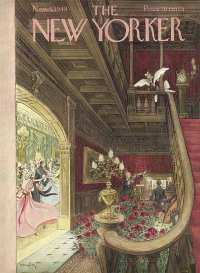 Mary Petty The New Yorker 1948_11_06 Copyright | The New Yorker Graphic Art Covers 1946-1970