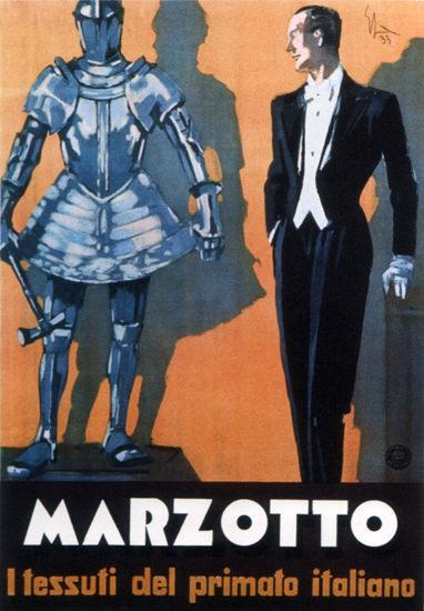 Marzotto Il Tessuti Del Primato Italiano 1933 | Sex Appeal Vintage Ads and Covers 1891-1970