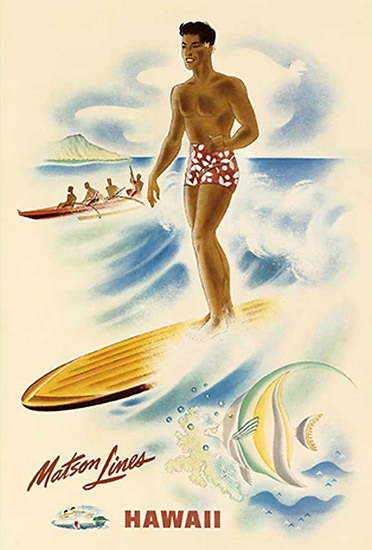 Matson Line Hawaii 1946 | Sex Appeal Vintage Ads and Covers 1891-1970