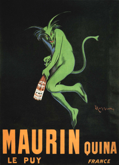Maurin Quinta Le Puy France | Vintage Ad and Cover Art 1891-1970