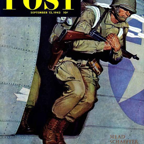 Mead Schaeffer Saturday Evening Post 1942_09_12 Copyright crop | Best of Vintage Cover Art 1900-1970