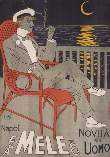 Mele Napoli Novita Per Uomo Italy Italia | Sex Appeal Vintage Ads and Covers 1891-1970