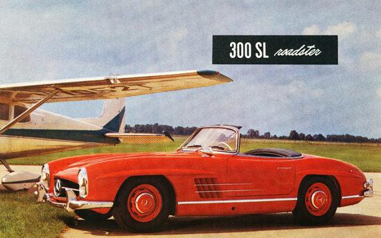 Mercedes Benz 300 SL Roadster 1954 | Vintage Cars 1891-1970