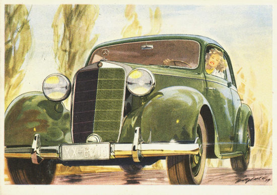 Mercedes Benz Type 170 S Sedan 1949 | Vintage Cars 1891-1970