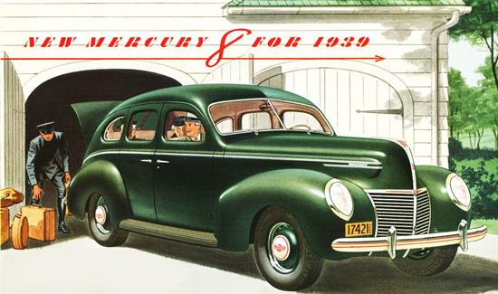 Mercury 8 Model 1939 | Vintage Cars 1891-1970