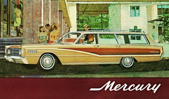 Mercury Colony Park Station Wagon 1966 | Vintage Cars 1891-1970