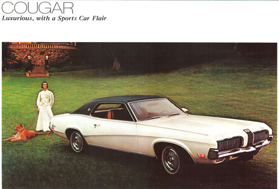 Mercury Cougar XR-7 Model 1970 | Vintage Cars 1891-1970