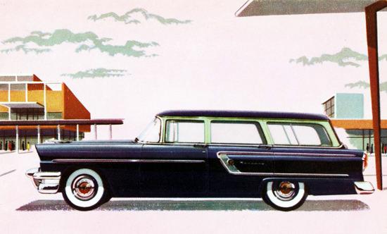 Mercury Custom Station Wagon 1955 | Vintage Cars 1891-1970