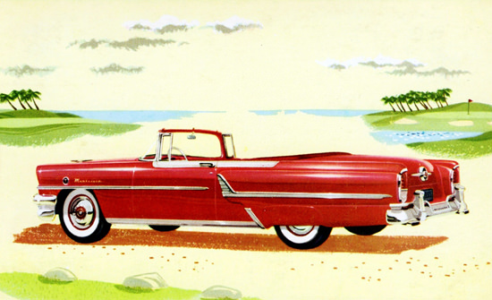 Mercury Montclair Convertible 1955 | Vintage Cars 1891-1970