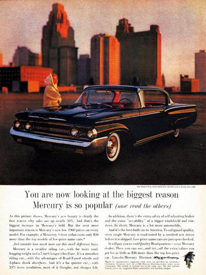 Mercury Montclair Cruiser 1960 Down Town | Vintage Cars 1891-1970