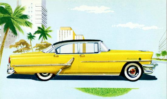 Mercury Montclair Sedan 1955 Yellow | Vintage Cars 1891-1970