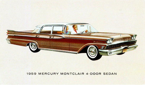 Mercury Montclair Sedan 1959 | Vintage Cars 1891-1970