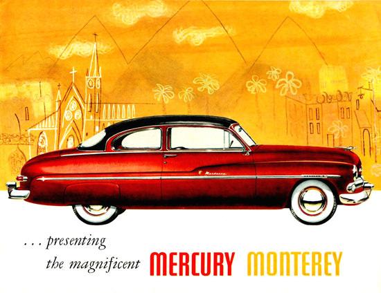 Mercury Monterey 1950 | Vintage Cars 1891-1970