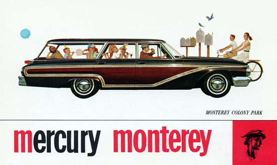 Mercury Monterey Colony Park Station 1962 | Vintage Cars 1891-1970
