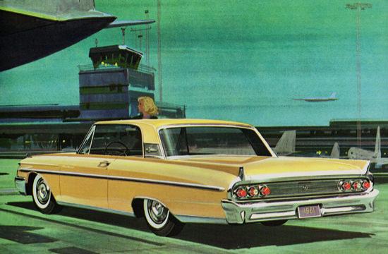 Mercury Monterey Hardtop 1961 Airport | Vintage Cars 1891-1970