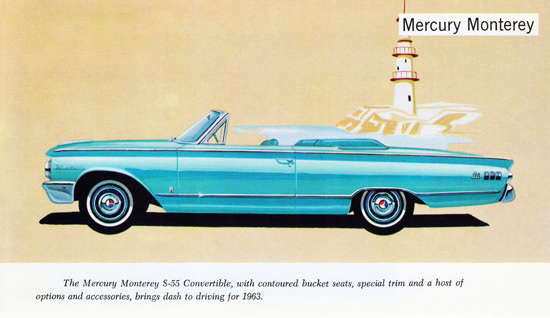 Mercury Monterey S 55 Convertible 1963 Dash | Vintage Cars 1891-1970