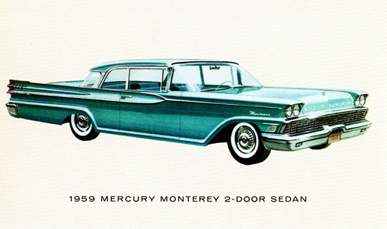 Mercury Monterey Sedan 1959 | Vintage Cars 1891-1970