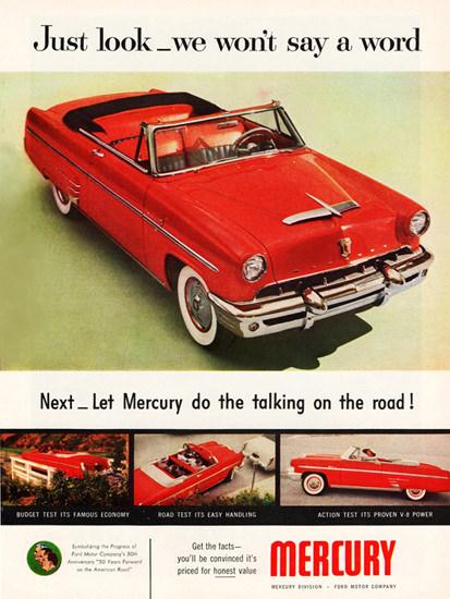Mercury Monterey Special Convertible 1953 | Vintage Cars 1891-1970