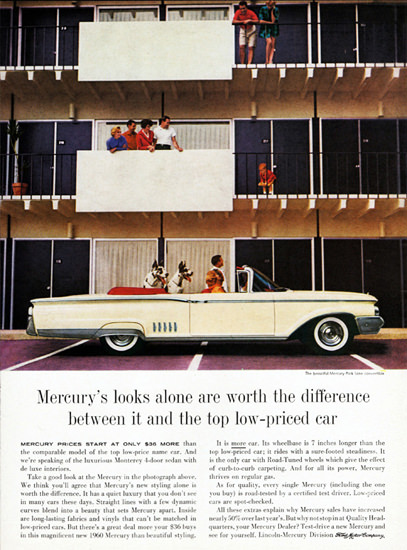 Mercury Park Lane Convertible 1960 Great Dane | Vintage Cars 1891-1970