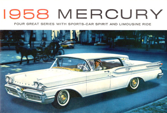Mercury Park Lane Phaeton Sedan  Hardtop 1958 | Vintage Cars 1891-1970