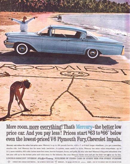 Mercury Roomiest 1960 | Vintage Cars 1891-1970