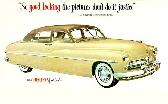 Mercury Sport Sedan 1949 | Vintage Cars 1891-1970