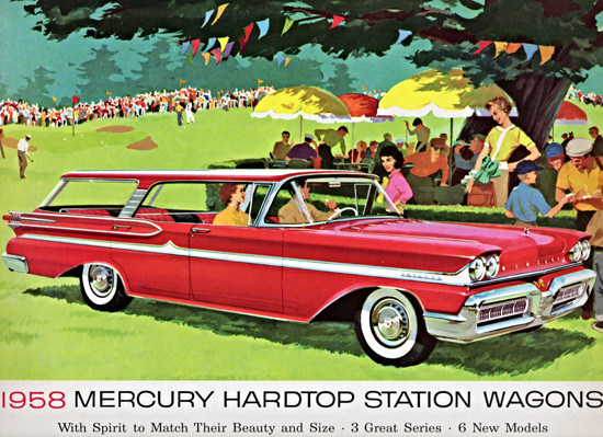 Mercury Station Wagons 1958 With Spirit | Vintage Cars 1891-1970