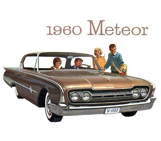 Meteor Rideau 1960 Brown | Vintage Cars 1891-1970