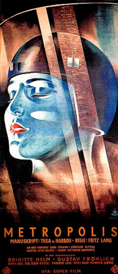 Metropolis Fritz Lang UFA Super Film 1926 | Vintage Ad and Cover Art 1891-1970