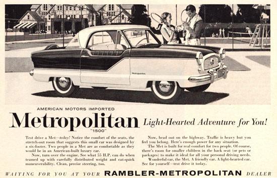 Metropolitan 1500 1960 Light Hearted Adventure | Vintage Cars 1891-1970
