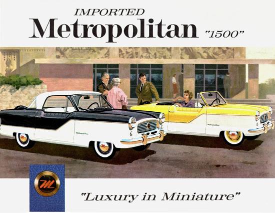 Metropolitan 1500 Coupe Convertible 1959 Miniature | Vintage Cars 1891-1970
